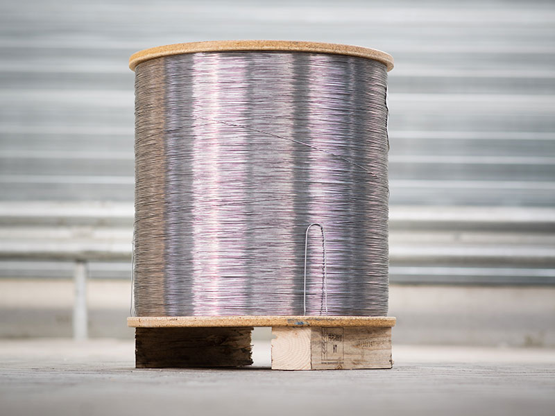 Secondary electrolytically coated low carbon steel wire | Wire and ...