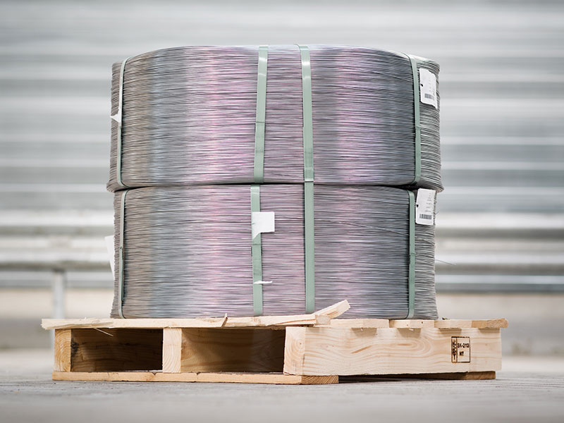 Secondary galvanized high