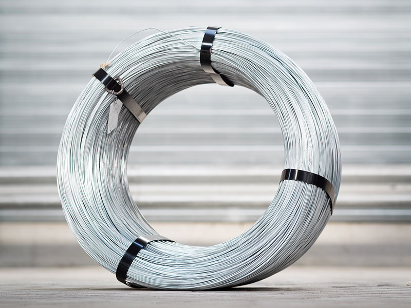 Secondary galvanized low carbon steel wire | Wire and Steel Trading