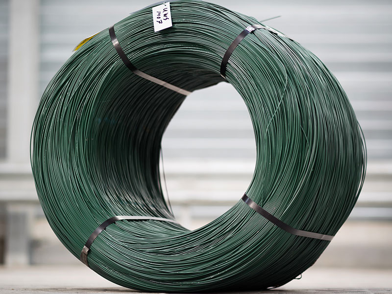 Secondary PVC coated and